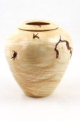 Steve Schwartz - Maple Vase with Poly Finish