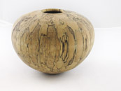 Charlie Hamilton - Spalted Birch Hollow Form, Walnut Oil Finish