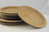 Aage Rendalen - Red/White Oak Dinner Plates, Tung Oil Finish